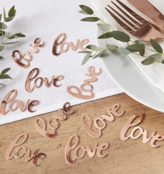 Confetti Love decorativo